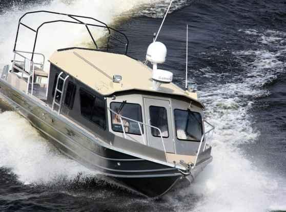 Катер из алюминия Weldcraft 300 Ocean King место в строю!