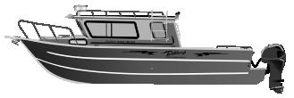 Алюминиевый катер Cuddy King