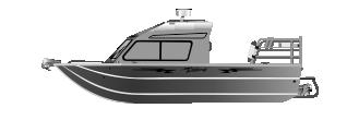 Алюминиевый катер legacy