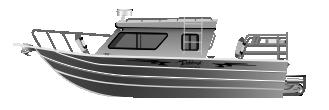 Алюминиевый катер Ocean King Jet