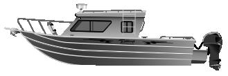 Алюминиевый катер Ocean King