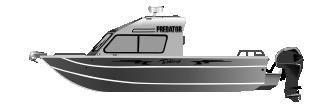 Алюминиевый катер Predator