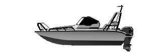 Алюминиевый катер 530