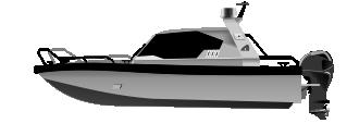 Алюминиевый катер 868