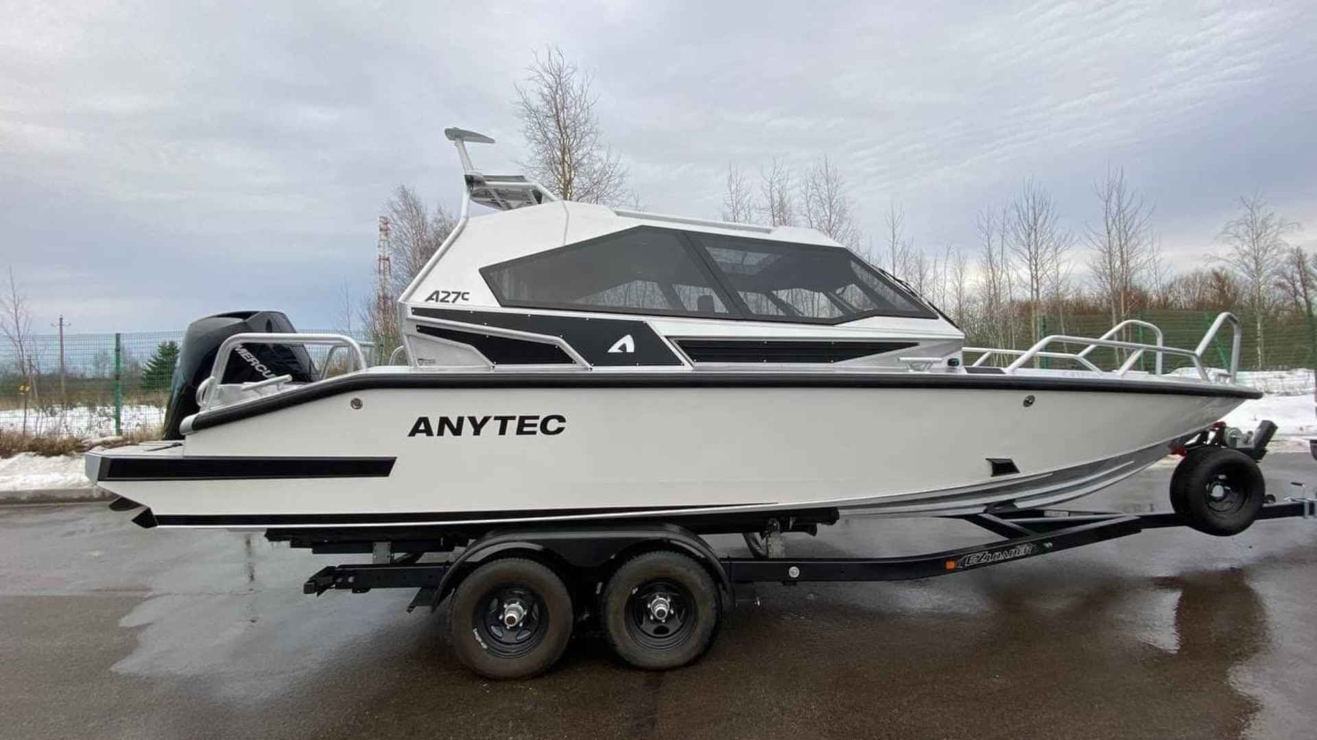 Алюминиевый катер Anytec A27C