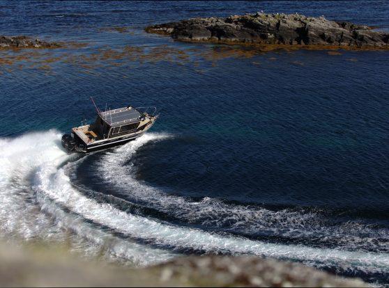 Алюминиевые каютные катера Cuddy King — ГЕЛЕНДЕВАГЕНы НА ВОДЕ.