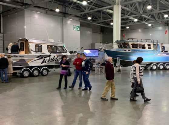 Крупнейшая выставка в России – Moscow Boat Show 2019!