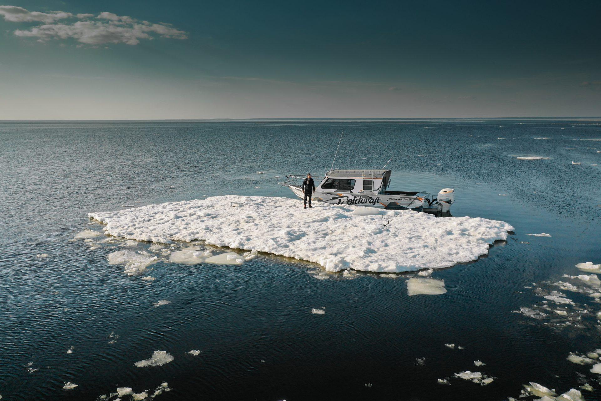 велдкрафт ocean king в водах балтики