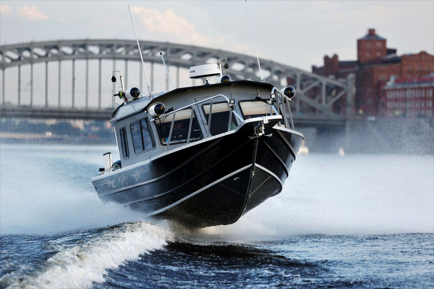 Алюминиевые катера Weldcraft