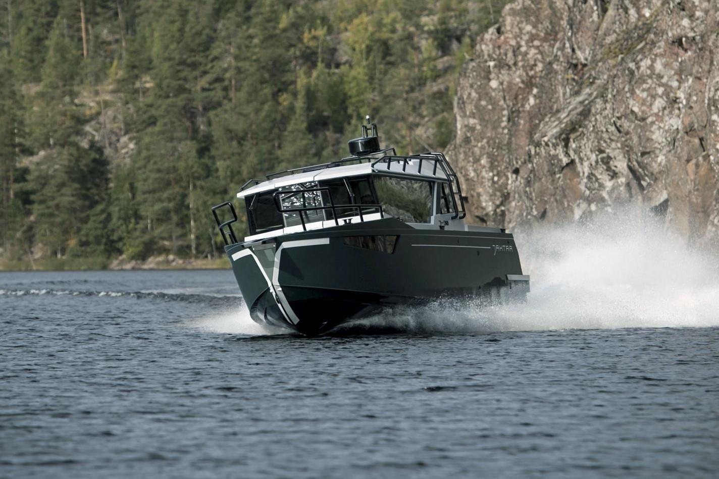 Алюминиевые катера Jaktar